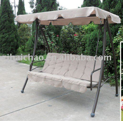 Outdoor Swing Chair for 3 seaters Outdoor Swing Chair