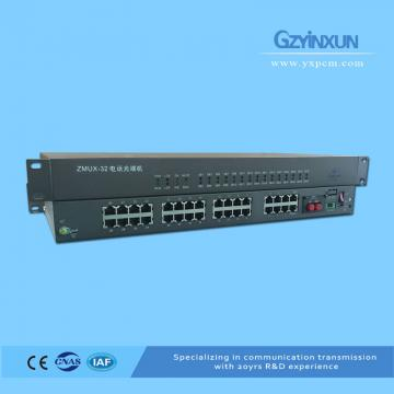30-channel telephone optical transceiver-ZMUX-32-30