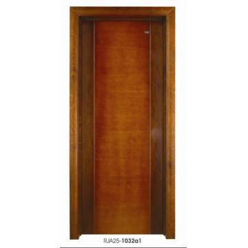 Solid core veneer door door wooden door flush door for Flush solid core wood interior doors
