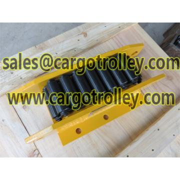 Moving roller dolly change direction easily