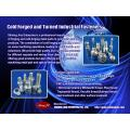 Fasteners - Industrial metal cold forging and stamping