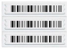 Retail security label, retail loss prevention