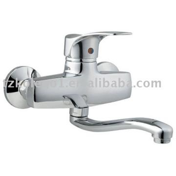 Single Lever Wall Mounted Kitchen Faucet