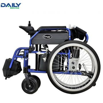 24'' Electric Power Wheelchair with Easy Folding Capability