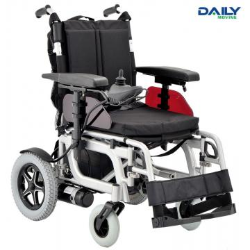 Al Frame Folding Comfortable Power Wheelchair with Different Seat Size