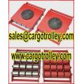 Individual rollers on warehouse and storage