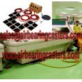 Air caster skids factory in China