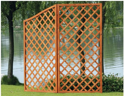 Charmant Wooden Garden Fence