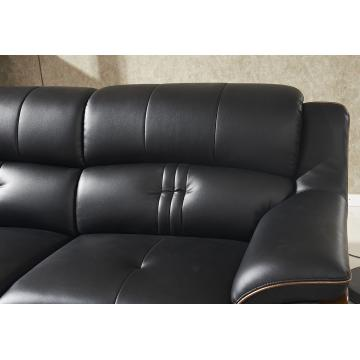 Professional manufacture leather sofa  combination sectional living room sofa