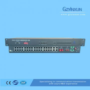 1 Fiber+1 E1 back up protection multiplexer