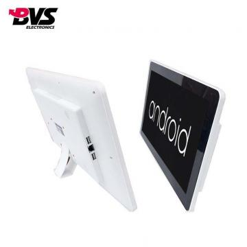 all in one touch screen pc with high resolution capacitive touch for commercial advertising display