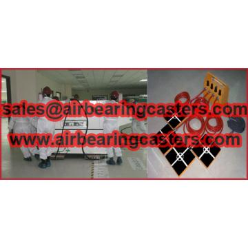 Air rigging systems with four or six air modular