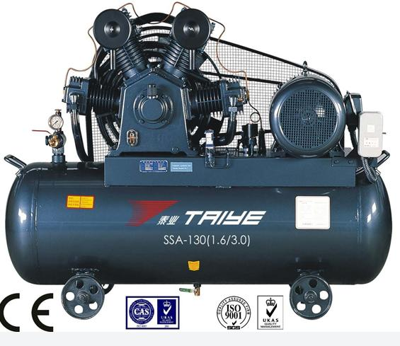 High Pressure Gas Compressor : High pressure air compressor with gas holder ssa