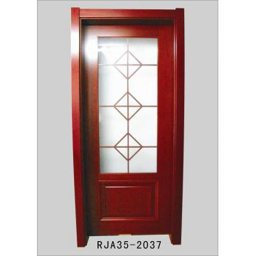 Interior solid wooden door door wooden door flush door for Solid wood flush door