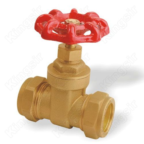 Brass Gate Valves With Pipe Union Brass Gate Valves With