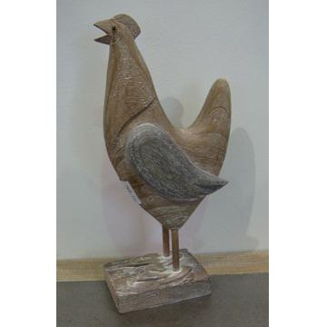 Wooden Carved Chicken