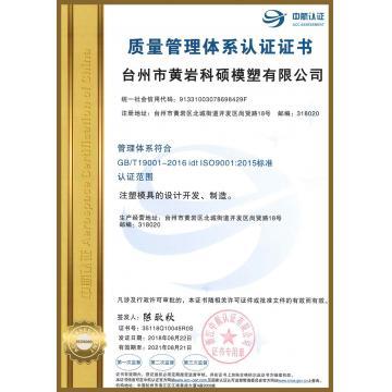 Taizhou Huangyan Keshuo Mould  Plastic Co Ltd