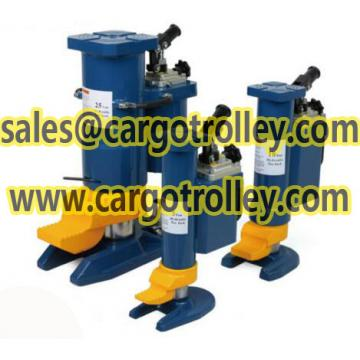 Heavy duty Industrial lifting toe jack