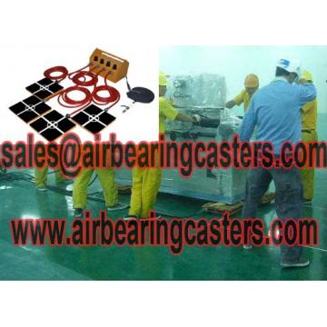 Air bearing turntables work principle