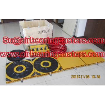 Air bearing movers affordable and safety