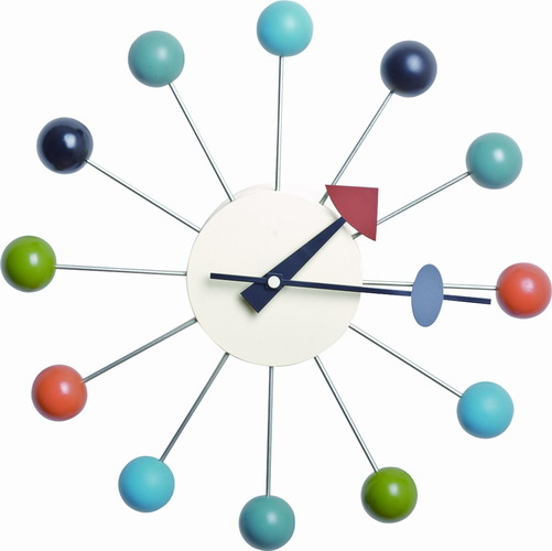 Nelson ball clock wall clock nelson ball clock wall for Nelson wall clock
