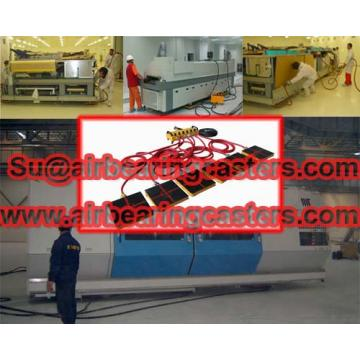 Aircraft transporters the same as a hovercraft