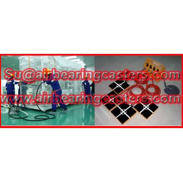 Air bearing movers is easy to operate without no specially training is workable