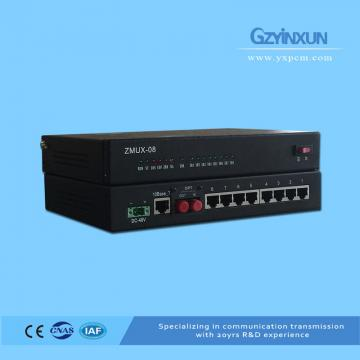 6 channle telephone optical transceiver