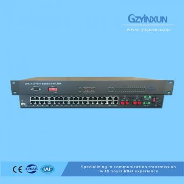 Fiber optic 1+1 protection multiplexer
