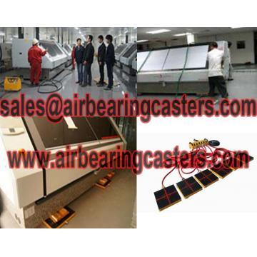 Air bearing casters modular air casters